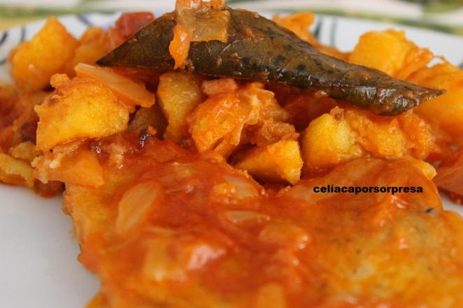 atún con tomate a la zaragozana