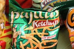 risi pajitas ketchup