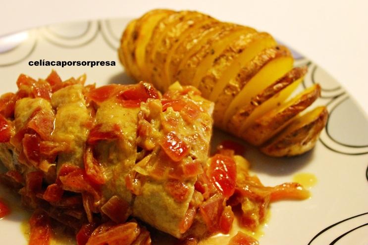 Solomillo de cerdo a la mostaza con patatas hasselback - Solomillo de ternera al horno con mostaza ...