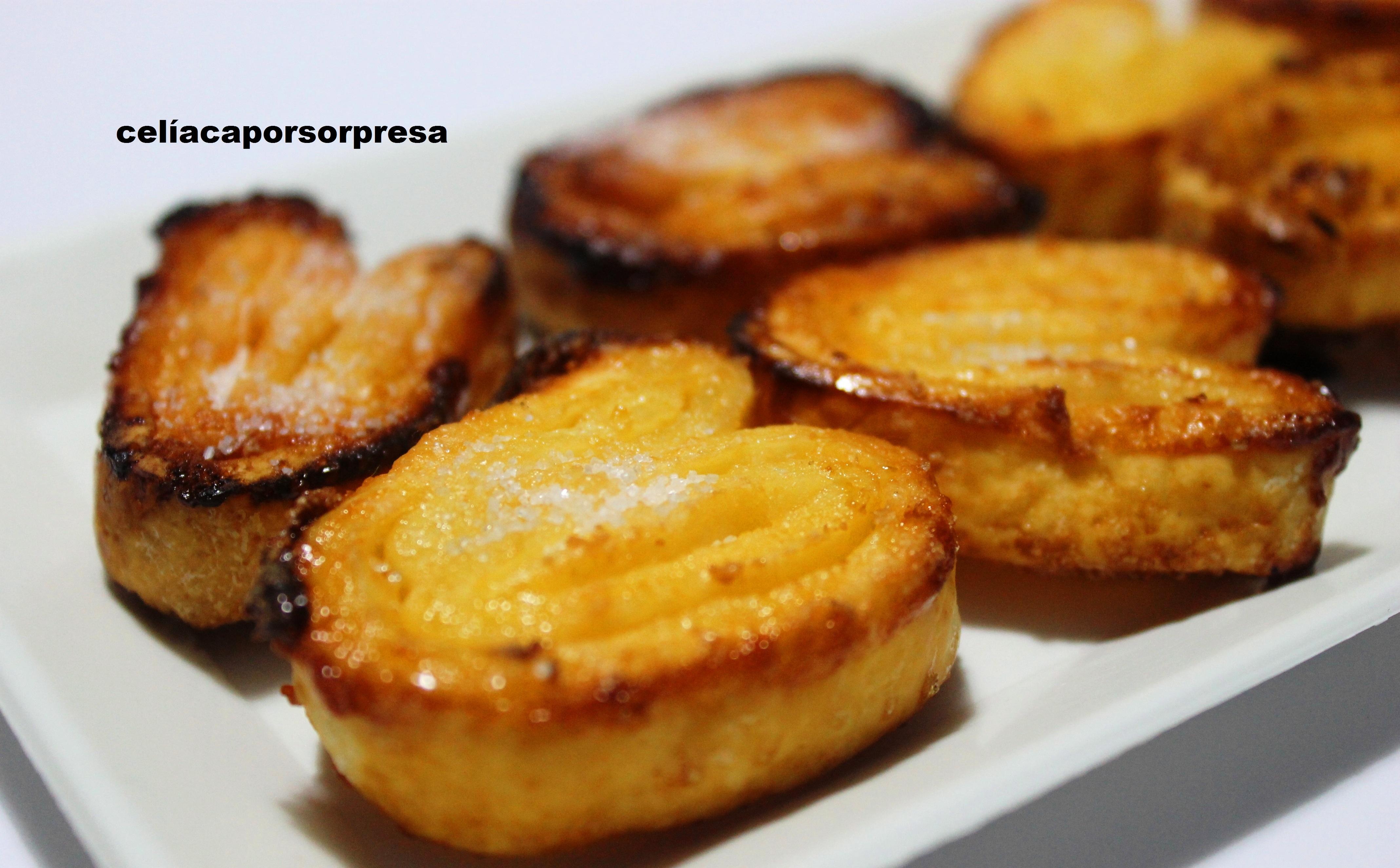 Mini Palmeritas De Azúcar (horno)