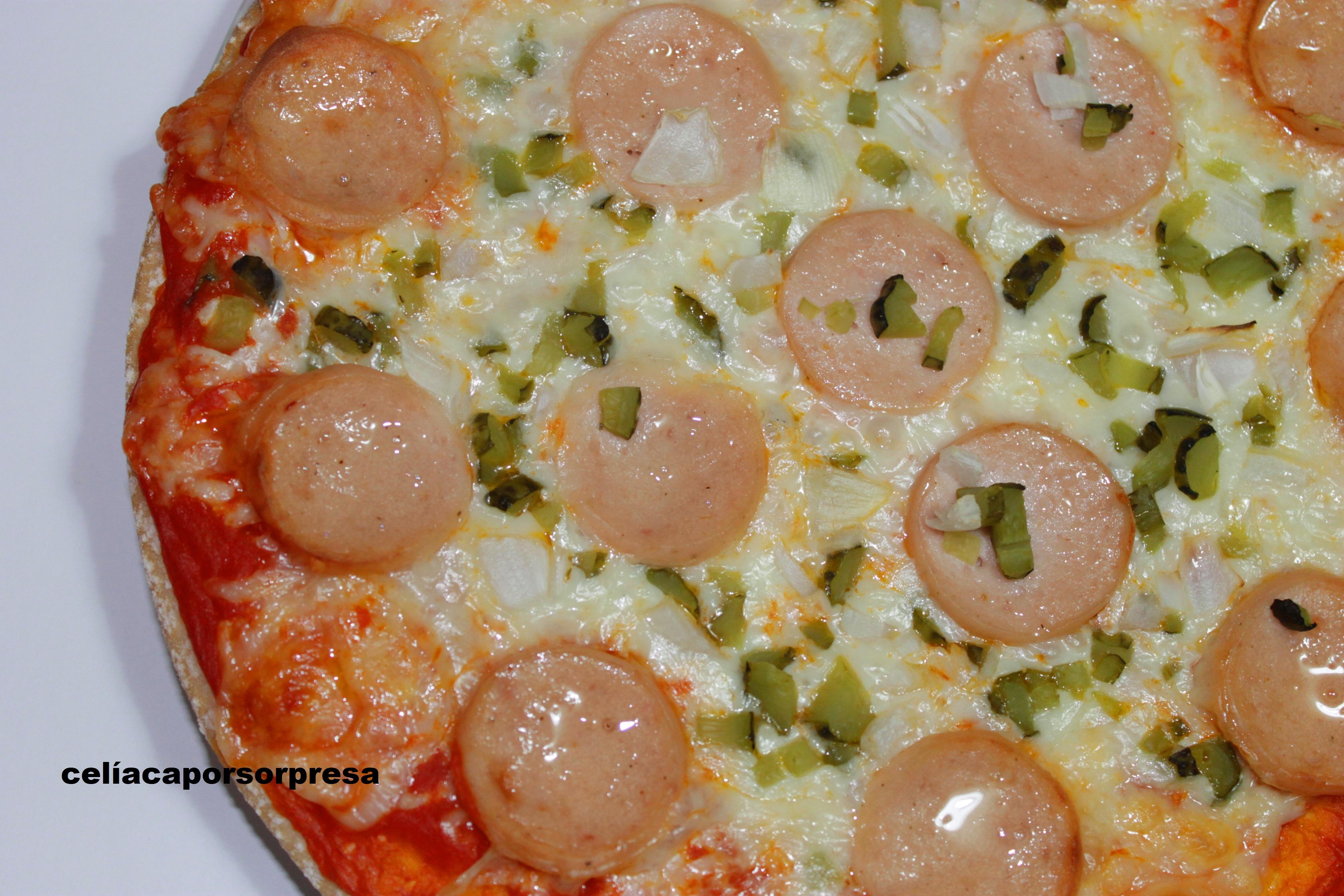 Pizza Alemana (horno)