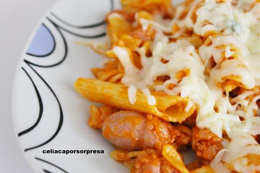 pasta con longaniza blanca y calabacín1