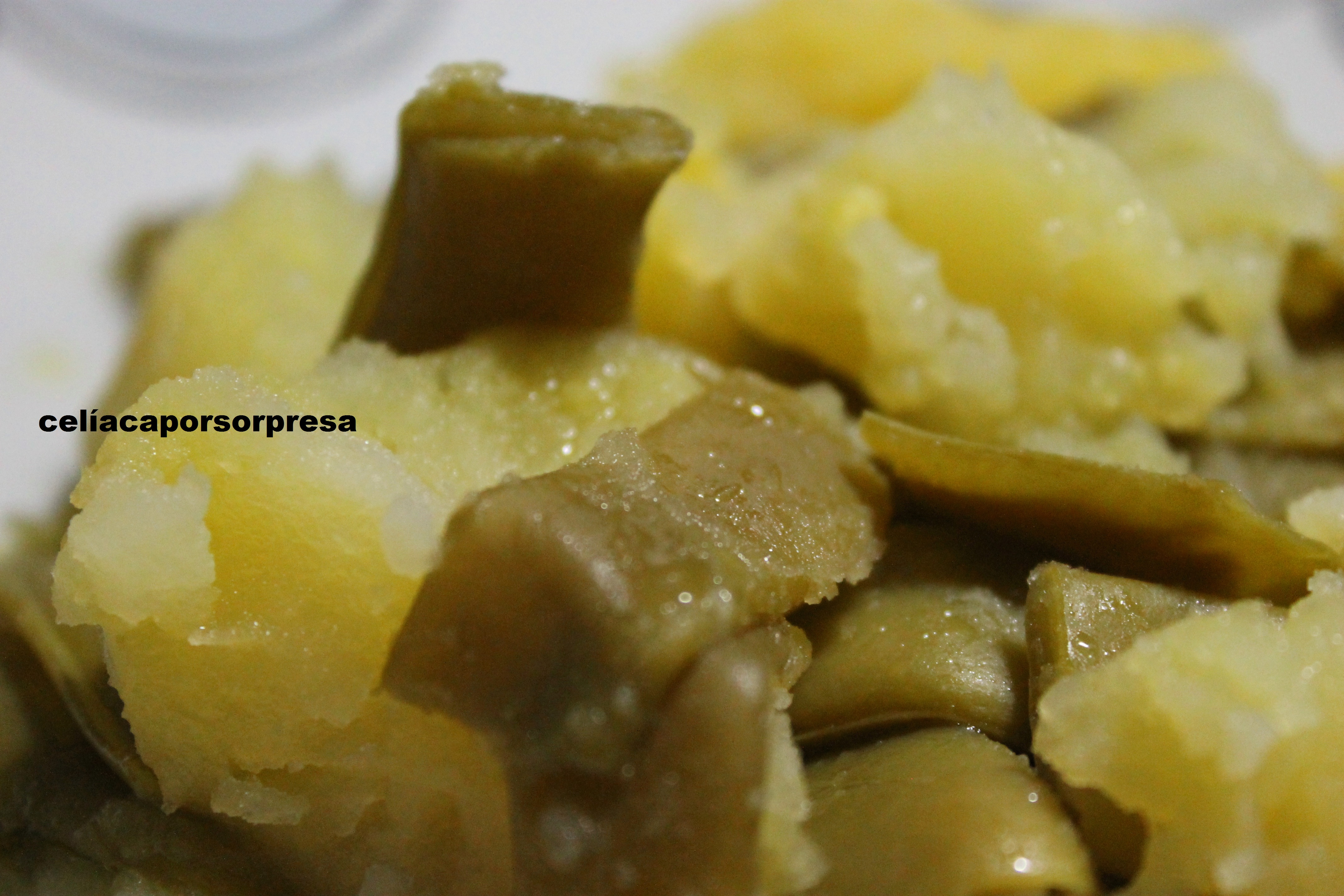 Jud as verdes con patatas olla expr s cel aca por sorpresa - Patatas en olla rapida ...