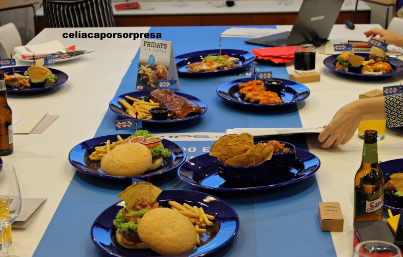 mesa-platos-sin-gluten-fridays