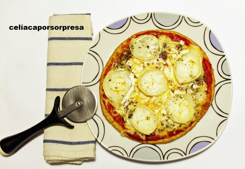pizza-queso-rulo-de-cabra-sin-gluten