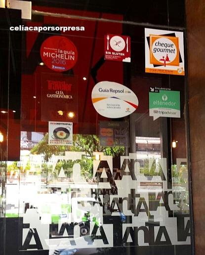 RESTAURANTE TANTA EN MADRID, TRADICIONAL COMIDA PERUANA SIN GLUTEN