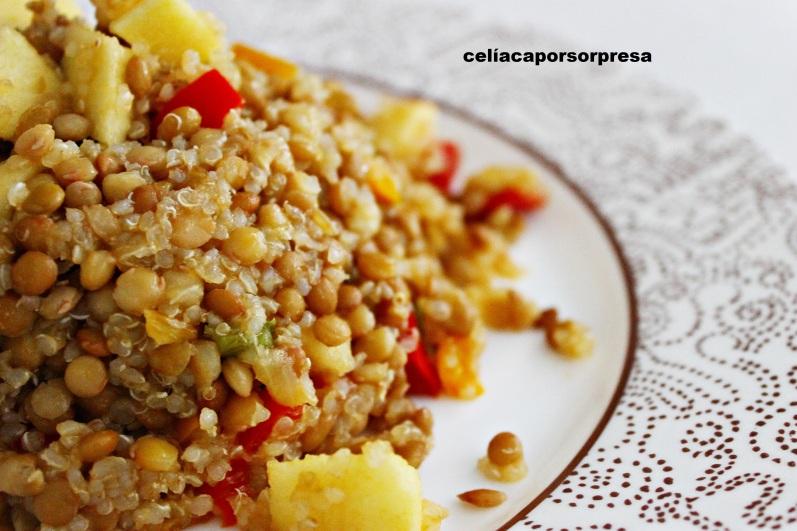 lentejas-con-quinoa-cerca