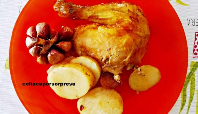 pollo-vino