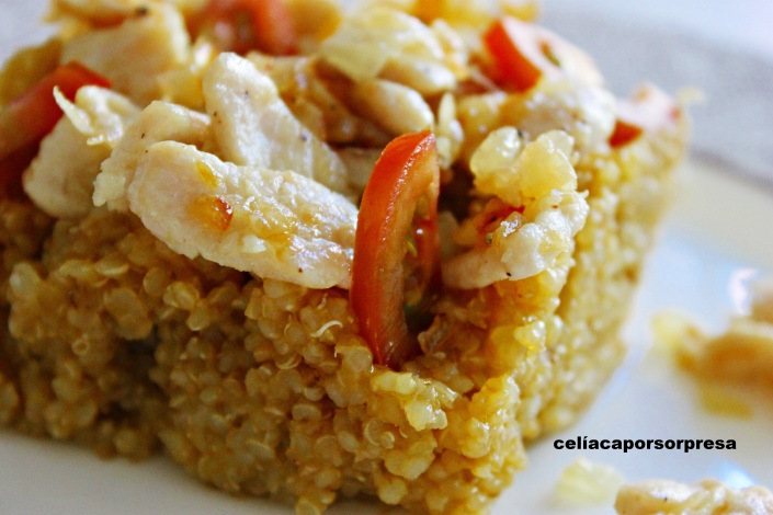quinoa-con-pollo-de-cerca