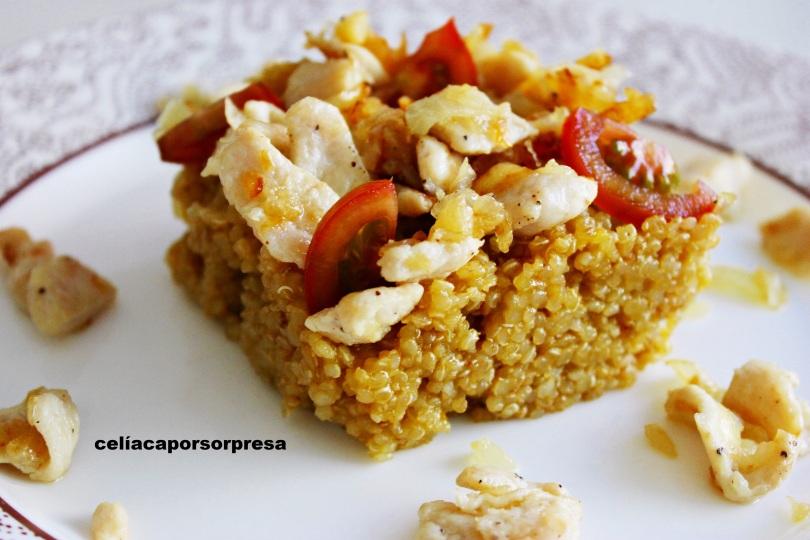 quinoa-con-pollo