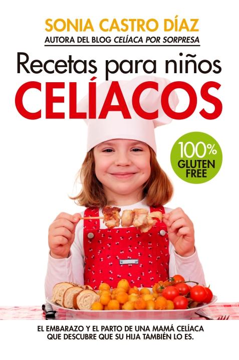 portada libro recetas para niños celiacos